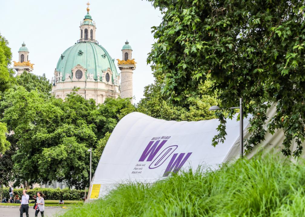 Ausstellung Wien wird Wow